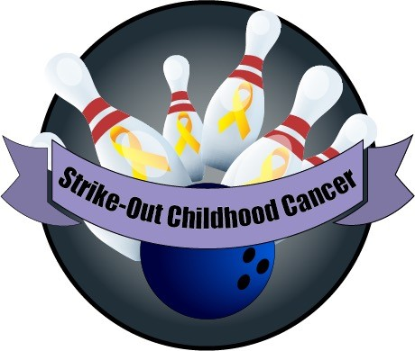 Strike-Out Childhood Cancer Logo