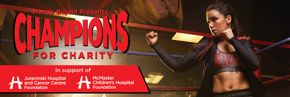 Champions for Charity Header Graphic