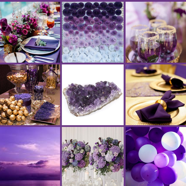 Amethyst Event Mood Board