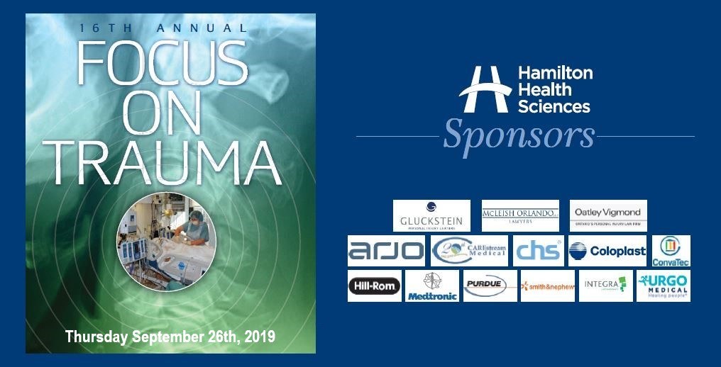 2019 Focus on Trauma Conference - Hamilton Health Sciences